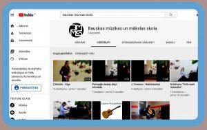 Izveidota Bauskas MMS lappusīte vietnē YouTube