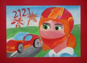 """Bērnu mākslas darbi aizsūtīti uz Čehiju  (ieej """"Izstāžu zālē""""!)"""